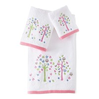 Kassatex Merry Meadow Embroidered Towels