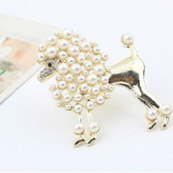 Poodle Statement Ring  | LilyFair Jewelry