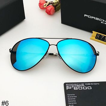 Porsche Design Trends Men's Big Frame Driving Retro Polarized Sunglasses #6