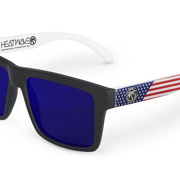 VISE Sunglasses: Stars & Stripes Traditional USA Customs