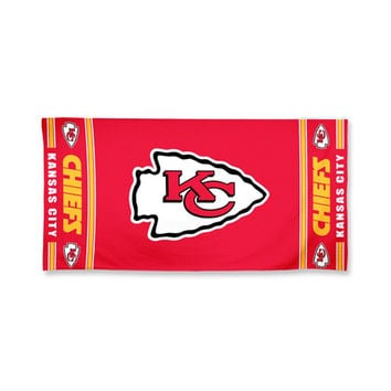 Kansas City Chiefs NFL Beach Towel (30x60)