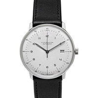 Junghans - Max Bill Stainless Steel and Leather Automatic Watch | MR PORTER