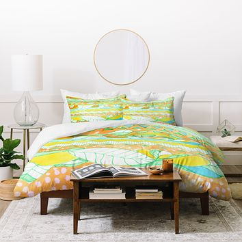 CayenaBlanca Light Tribal Duvet Cover