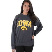 Iowa Hawkeyes Adult Value Crewneck Sweatshirt