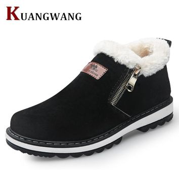 New Arrival Lace-Up Men Fashion Boots Wear Resistant Handmade Ankle Boots Working Boots Men Casual Shoes Size 39~44