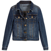 Zadig & Voltaire Girls Classic Denim Jacket (Mini-Me) | New Collection
