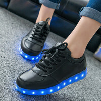 2015 Luminous Led Shoes For Men Women Light Up Shoes