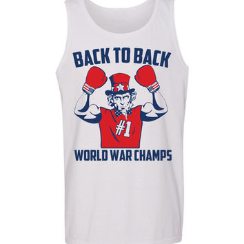 Uncle Sam 'Back to Back World War Champs' Tank
