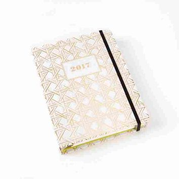 2017 Caning Agenda by Kate Spade New York