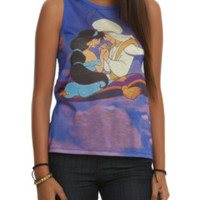 Disney Aladdin Magic Carpet Girls Muscle Top