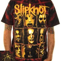 Slipknot T-Shirt - Rusty Frame All Over Print