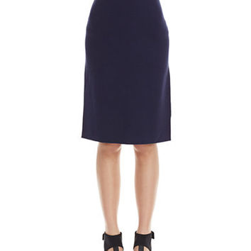Eileen Fisher Knee Length Silk Skirt