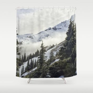 Never Let Me Go Shower Curtain by Gallery One