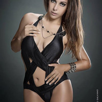 Pentagram Swimsuit Monokini