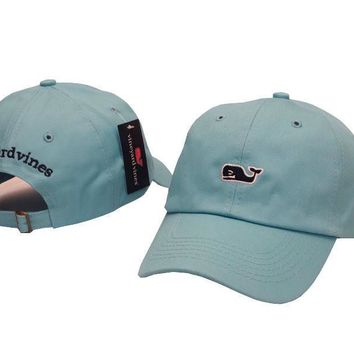 Vineyard Vines Women Men Embroidery Sports Sun Hat Baseball Cap Hat-3