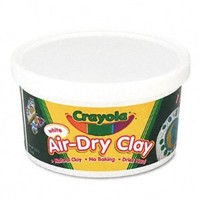 Crayola Air Dry Clay 5 Lb Bucket, White, (57-5055)(Discontinued by manufacturer)