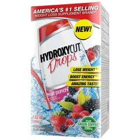 Hydroxycut Drops Fruit Punch Weight Loss Liquid Concentrate Dietary Supplement, 1.62 oz - Walmart.com