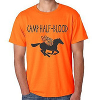 Camp Half Blood Orange Men's T-Shirt