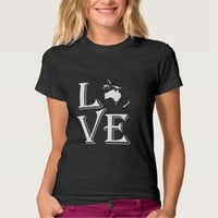 Love Oceania Continents Tee Shirt