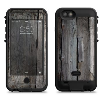 The Cracked Wooden Planks  iPhone 6/6s Plus LifeProof Fre POWER Case Skin Kit