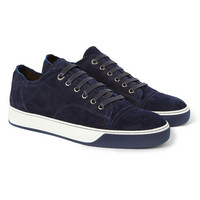 PRODUCT - Lanvin - Suede Sneakers - 397004 | MR PORTER