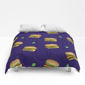 Cheeseburger Dreams Comforters by UMe Images