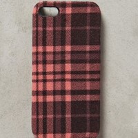 Rose Plaid iPhone 5 Case by Anthropologie Pink One Size Jewelry