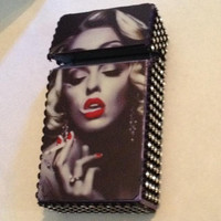 Smoking Marylin Cigarette Case king size
