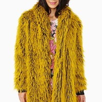 Bitching & Junkfood Nicolette Faux Fur Coat
