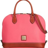 Dooney & Bourke Pebble Zip Zip Satchel | macys.com