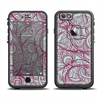 The Vector Purple Thin Laced Apple iPhone 6 LifeProof Fre Case Skin Set