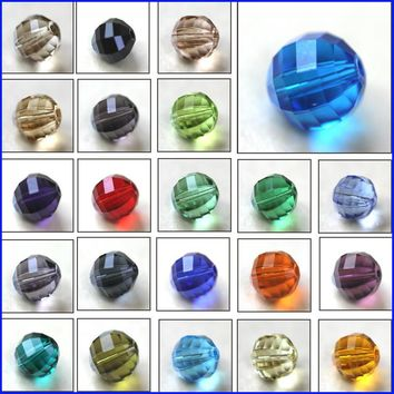 6MM 8MM 10MM 100pcs AAA Brilliant Round Shape Austrian crystals loose beads