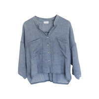 Lorna Soft Chambray Blouse