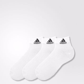 NEW GUYS 3 Pack Mens Genuine Adidas Sports Low Cut Trainer Socks WHITE Sz 6-14