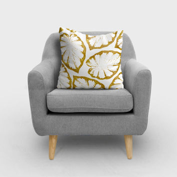 Monstera Gold #society6 #decor #buyart by 83 Oranges®