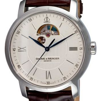 Baume and Mercier Classima Leather Automatic Watch MOA08688