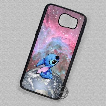 Cute Planet Nebula Lilo and Stitch - Samsung Galaxy S7 S6 S5 Note 7 Cases & Covers