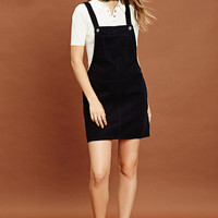 Corduroy Overall Shift Dress