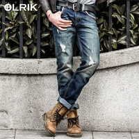 Winter Fashion Men Pants Denim England Style Men's Fashion Jeans [6528986179]