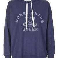 Homecoming Sweatshirt by Project Social T - Navy Blue