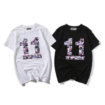 DCCKUH3 BApe head camouflage No. 11 short sleeves