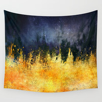My burning desire Wall Tapestry by HappyMelvin