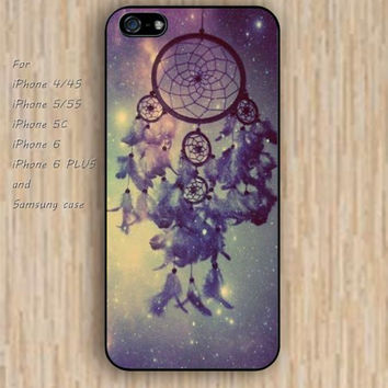 iPhone 5s 6 case Cartoon dream catchers case colorful phone case iphone case,ipod case,samsung galaxy case available plastic rubber case waterproof B266