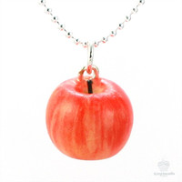 Scented Apple Necklace