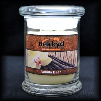 Vanilla Bean 8oz Status Jar Candle