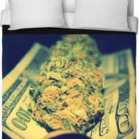 Weed On Money Bed
