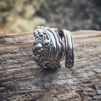 The Manchester Lily Sterling Spoon Ring