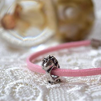 Unicorn pandora charm bracelet gift for Girl