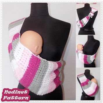 how to make baby sling with scarf