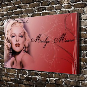 Marilyn Monroe HD Canvas print Posters Home decor Paintings Living Room Bedroom Wall Art Picture
